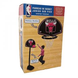 Panneau de Basket Junior sur Pied – NBA | Intérieur-Extérieur | Chigago Bulls